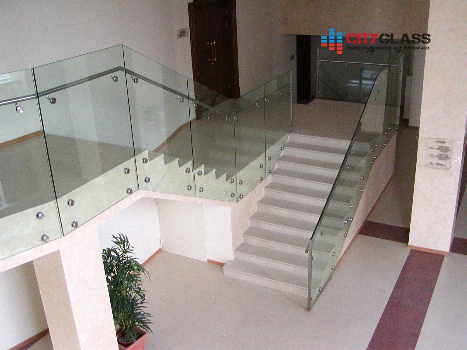 Галерея ограждений из стекла - 105