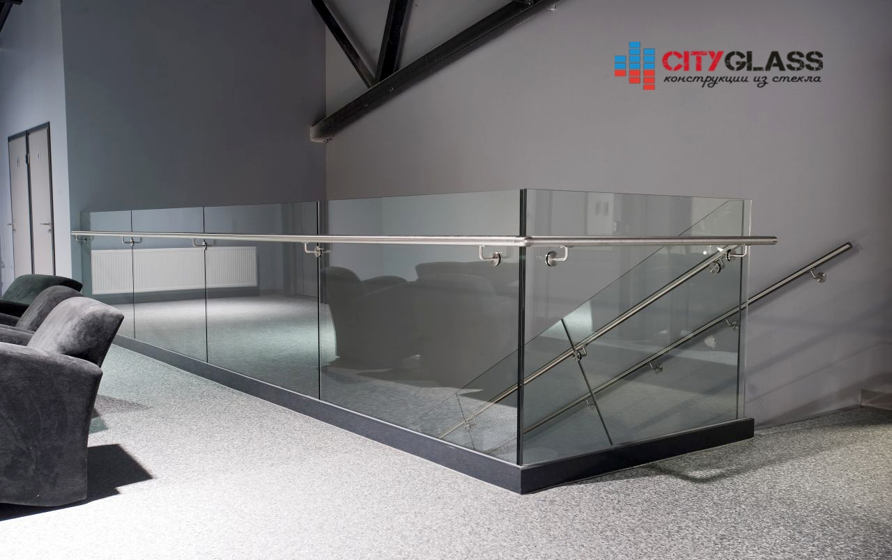 Галерея ограждений из стекла - 106