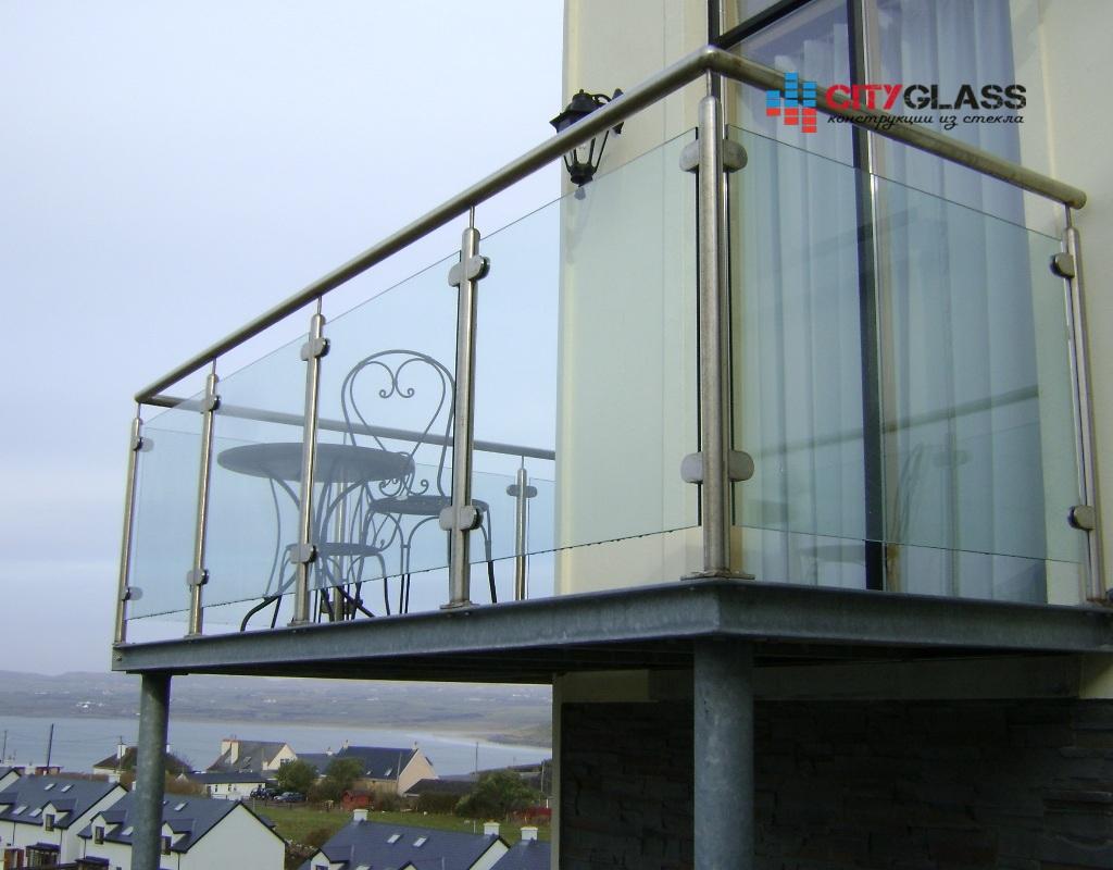 Галерея ограждений из стекла - 113