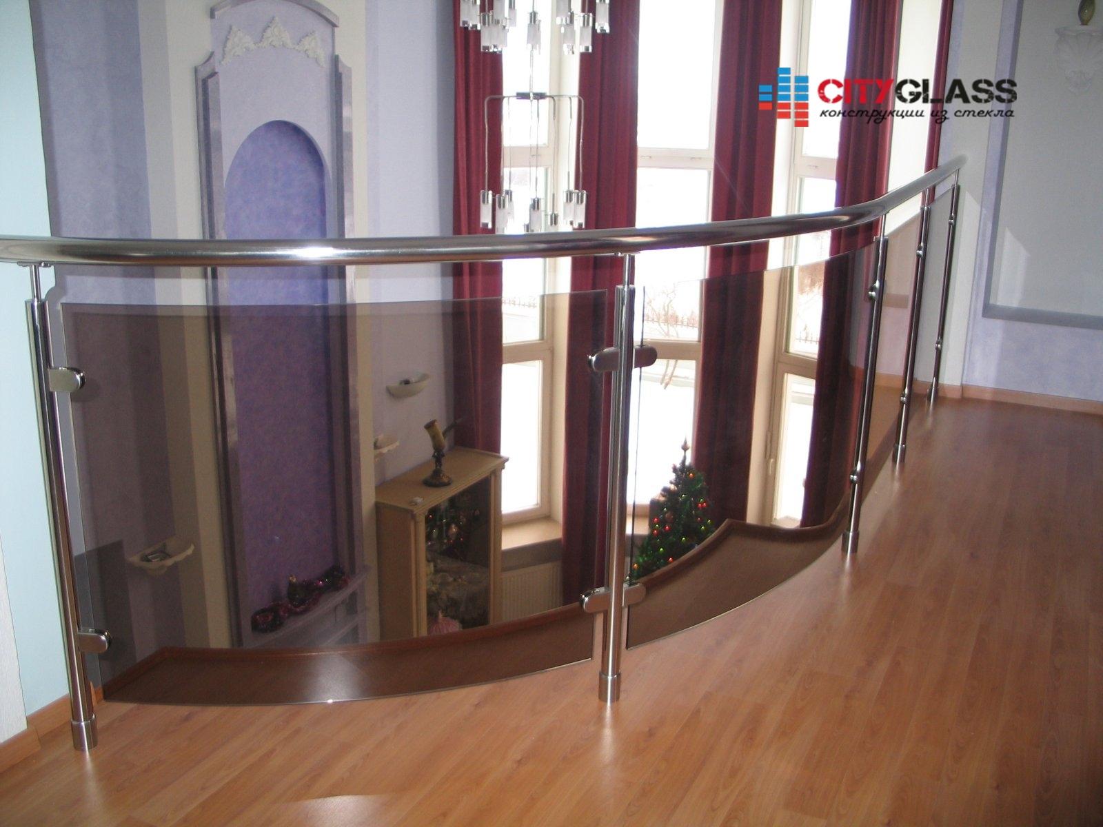 Галерея ограждений из стекла - 119