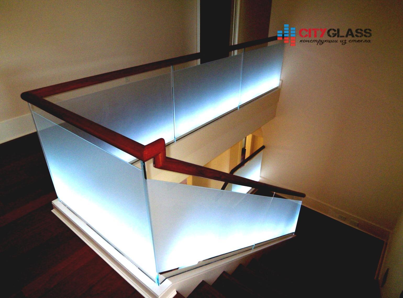 Галерея ограждений из стекла - 139