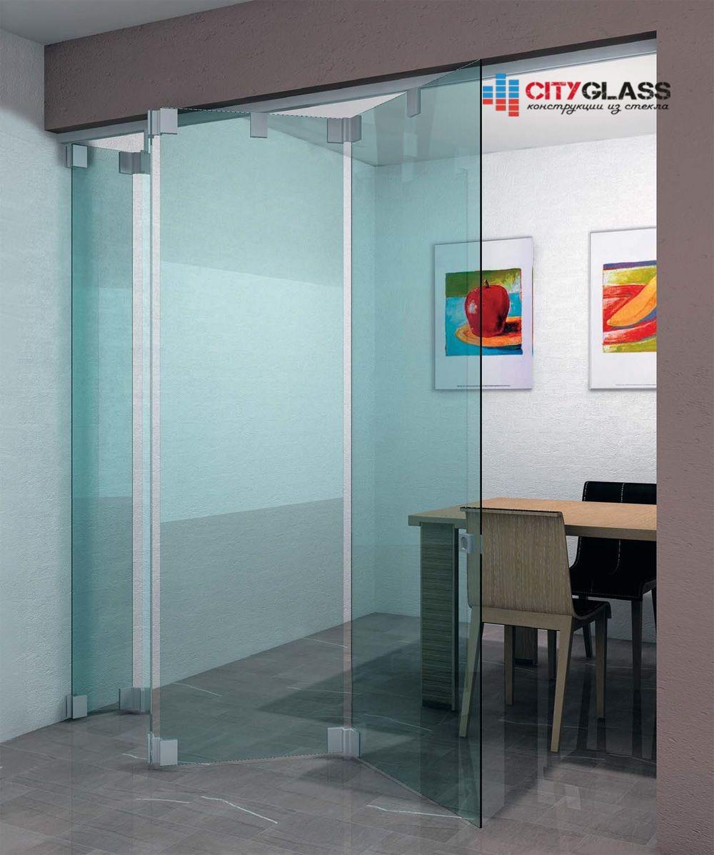 Галерея стеклянных душевых ограждений - D02