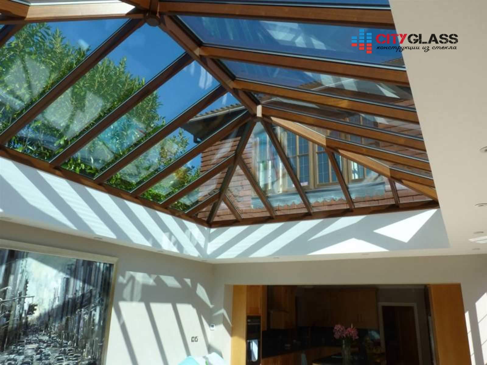 Галерея - стеклянные крыши - kz01