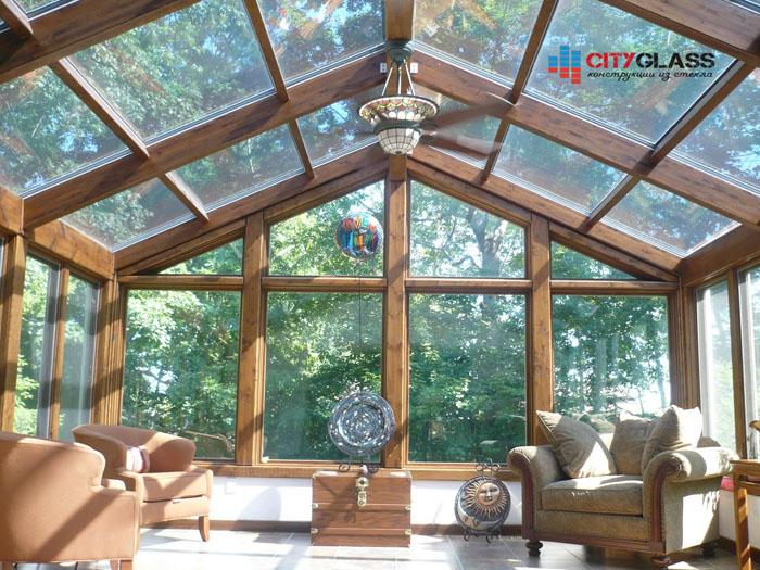Галерея — стеклянные крыши