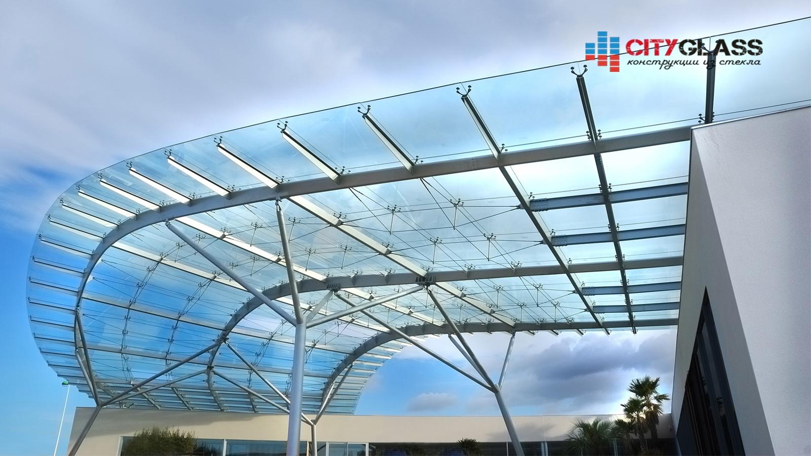 Галерея - стеклянные крыши - kz05