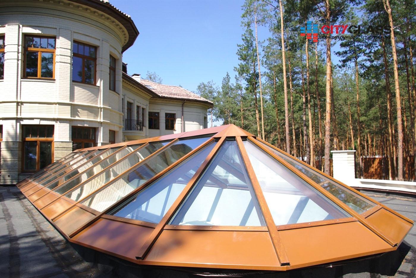 Галерея - стеклянные крыши - kz06