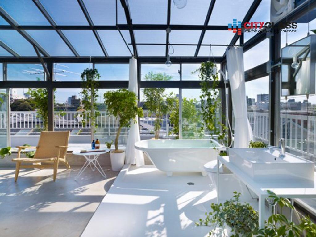Галерея - стеклянные крыши - kz07