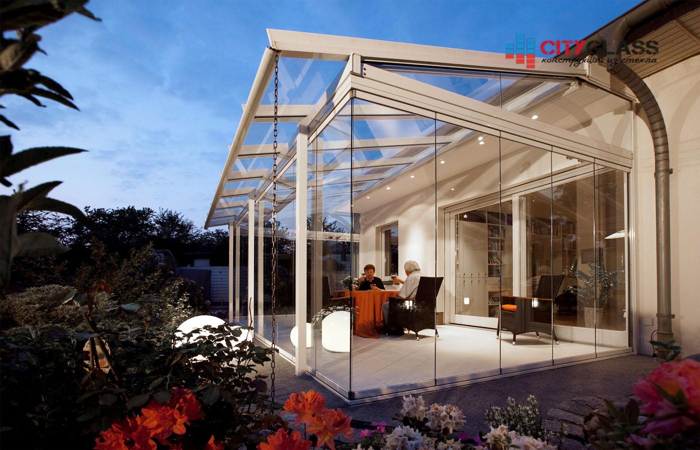 Галерея - стеклянные крыши - kz08