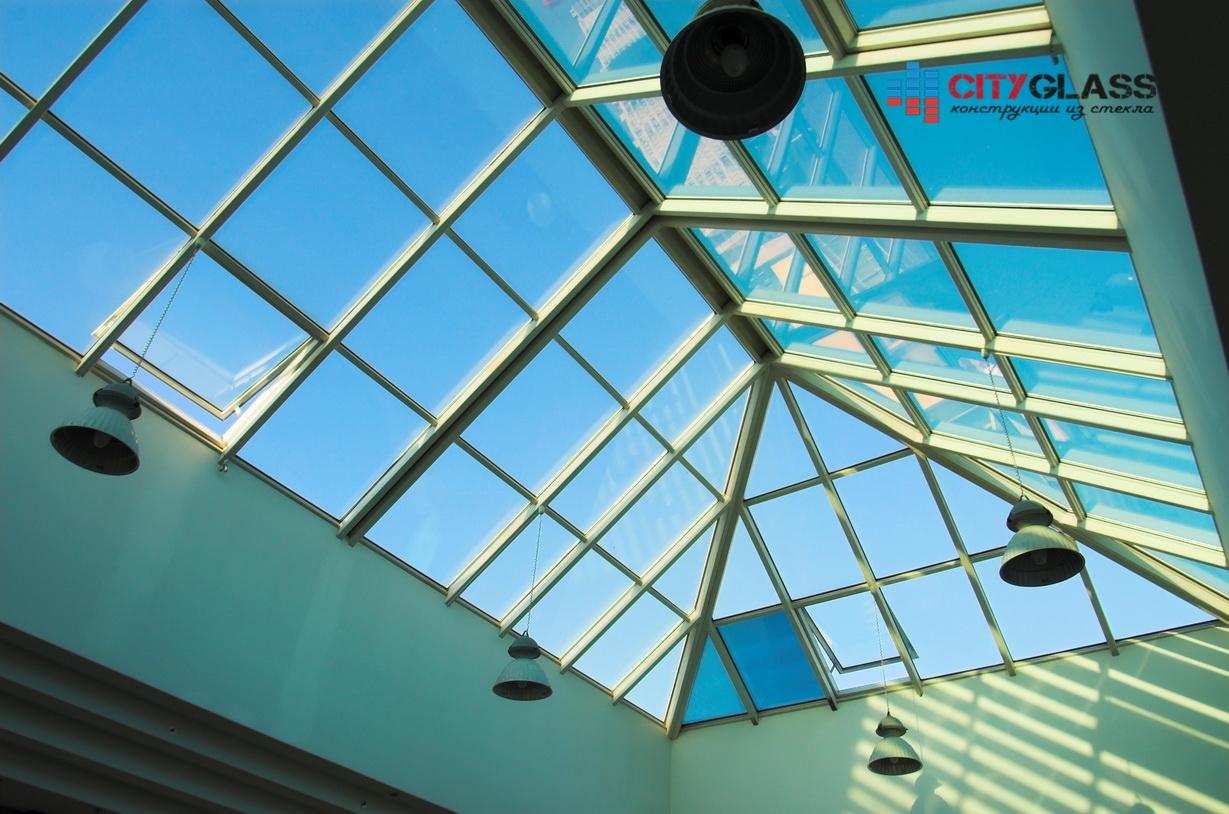 Галерея - стеклянные крыши - kz11