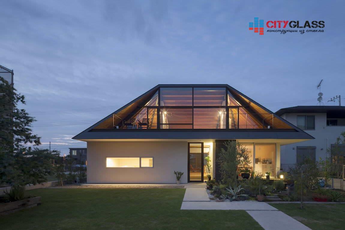 Галерея - стеклянные крыши - kz14