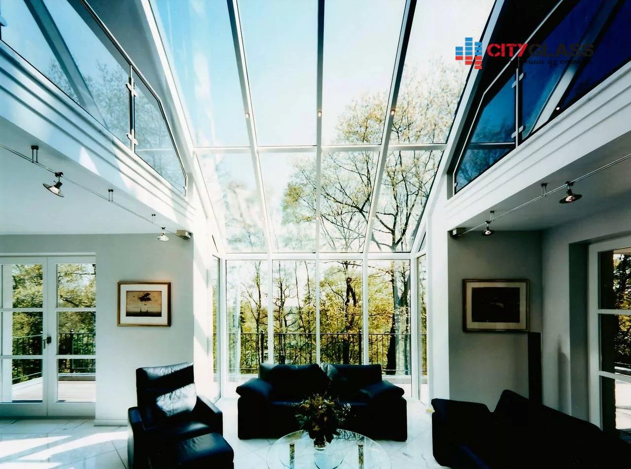 Галерея - стеклянные крыши - kz15