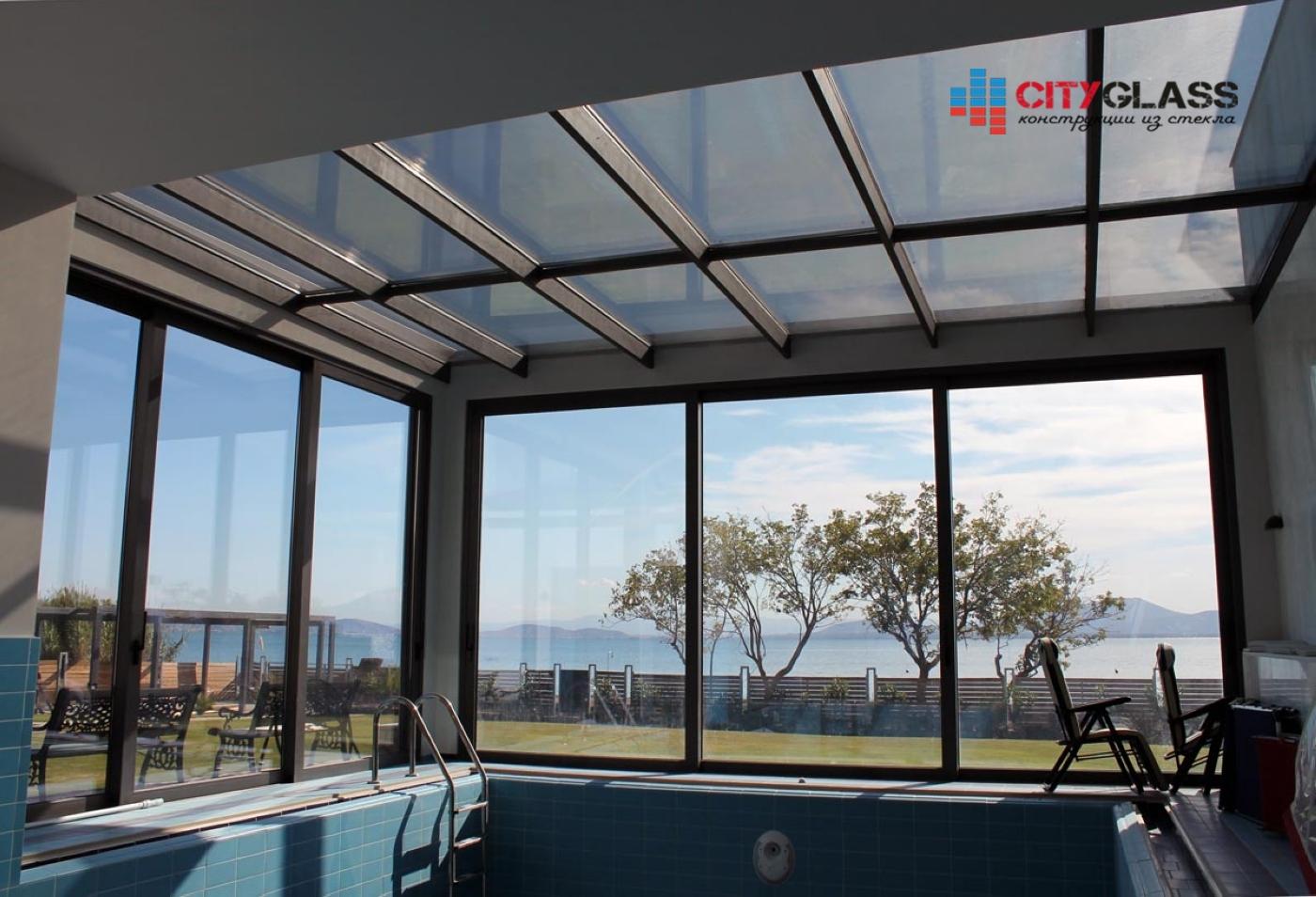 Галерея - стеклянные крыши - kz16
