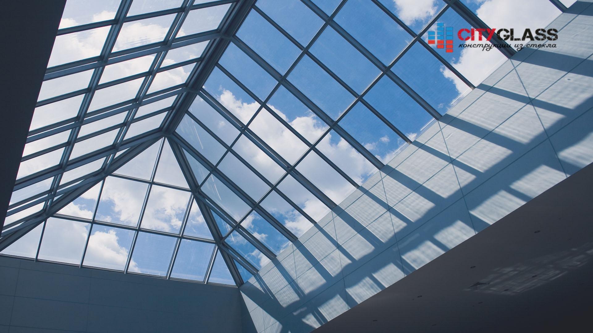 Галерея - стеклянные крыши - kz18