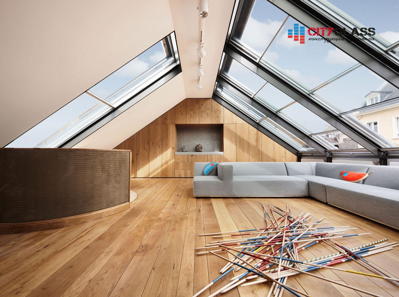 Галерея - стеклянные крыши - kz20