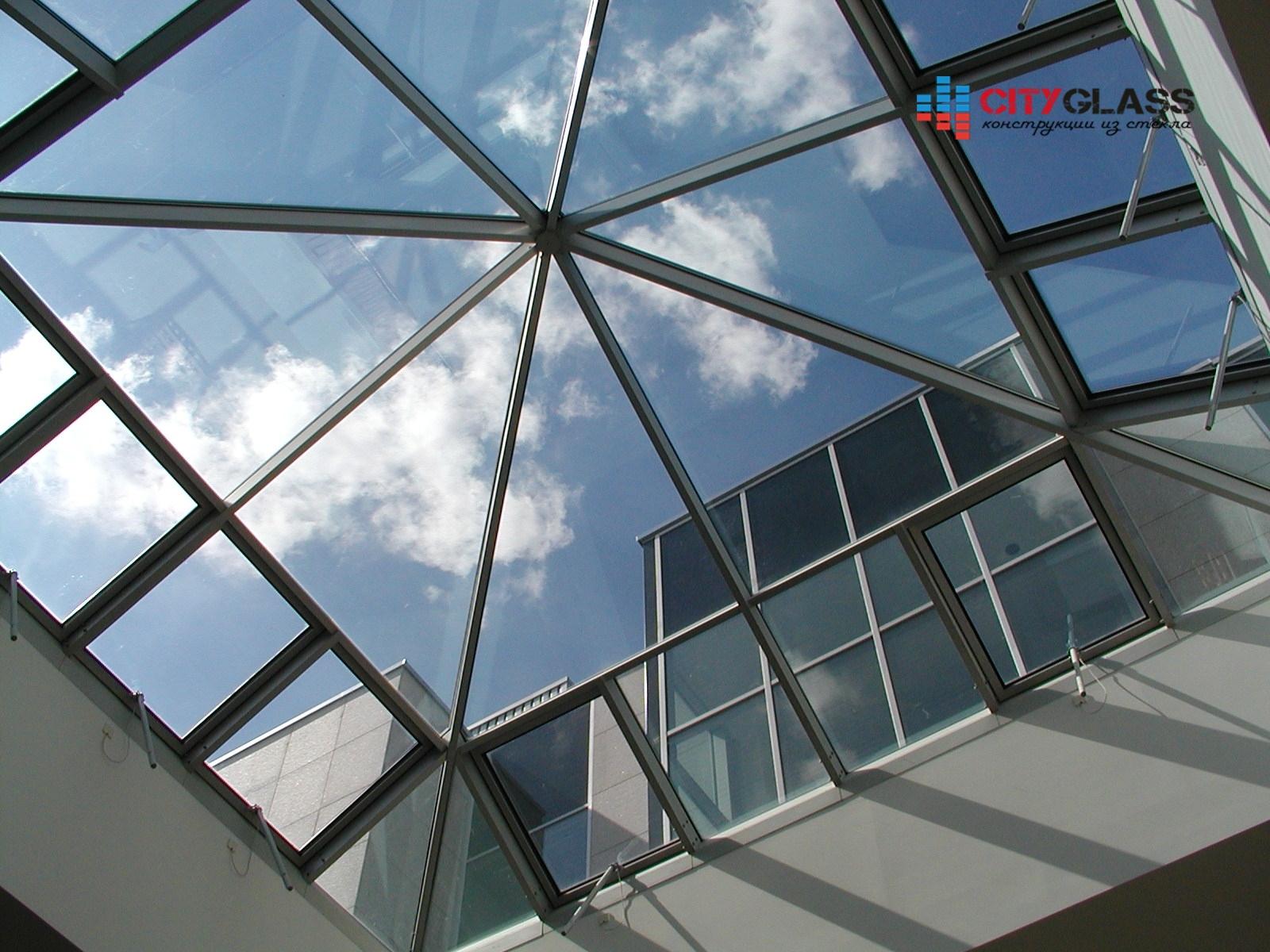 Галерея - стеклянные крыши - kz21