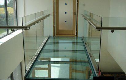Галерея - стеклянный пол или пол из стекла