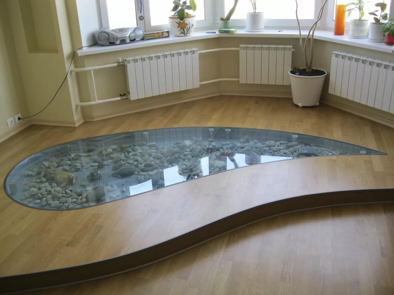 Галерея - стеклянный пол или пол из стекла - 1 09