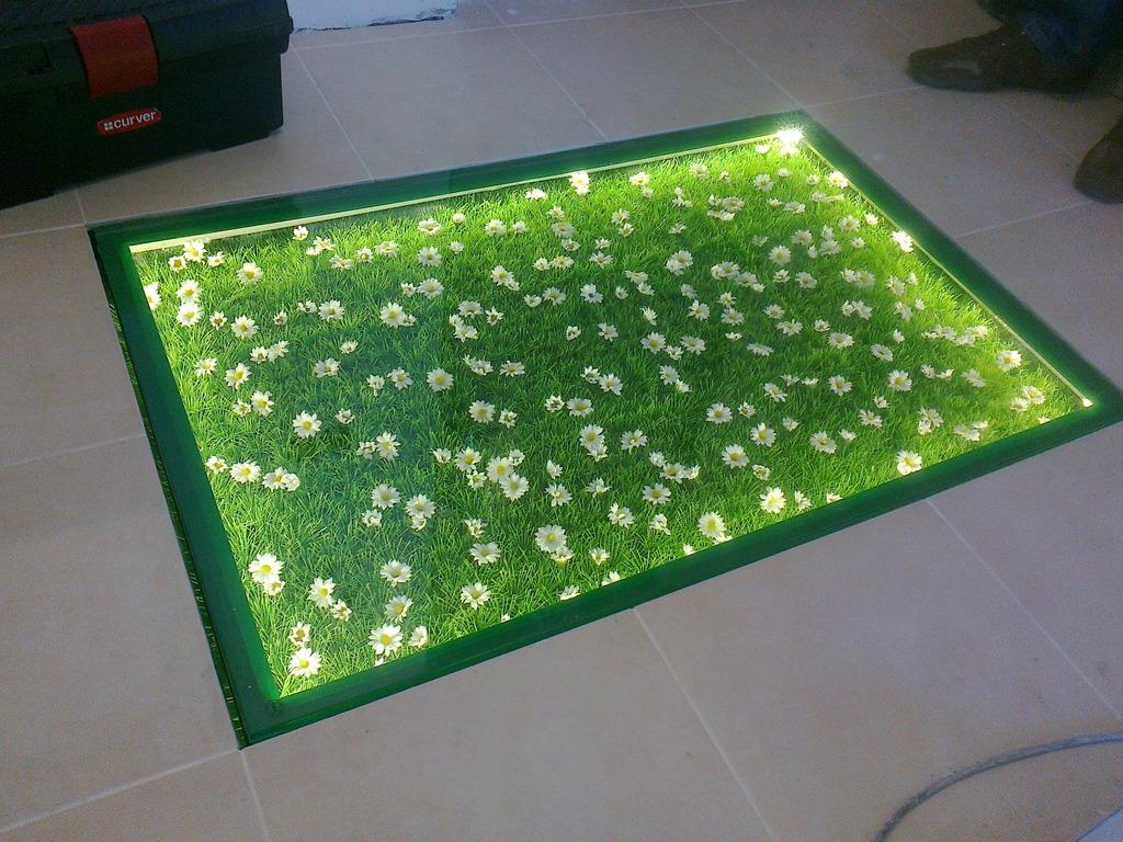 Галерея - стеклянный пол или пол из стекла - 1 10