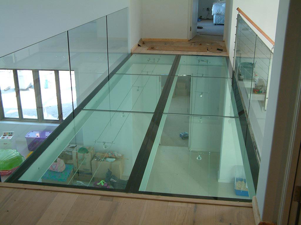 Галерея - стеклянный пол или пол из стекла - 1 11