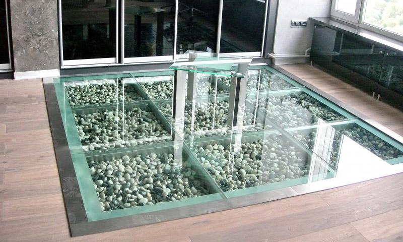 Галерея - стеклянный пол или пол из стекла - 1 12