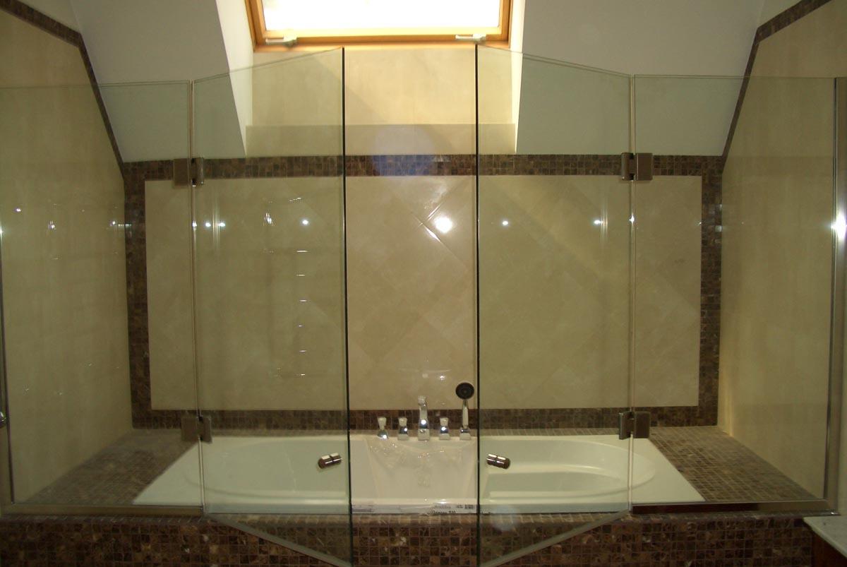 Галерея - шторки из стекла для ванной - sh 01