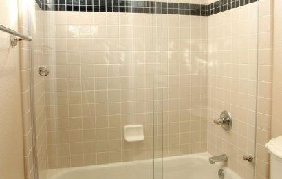 Шторки из стекла для ванной