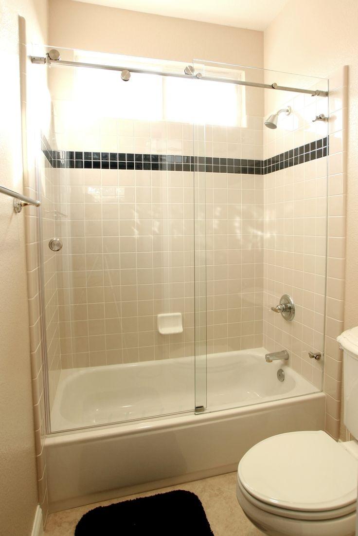 Галерея - шторки из стекла для ванной - sh 10