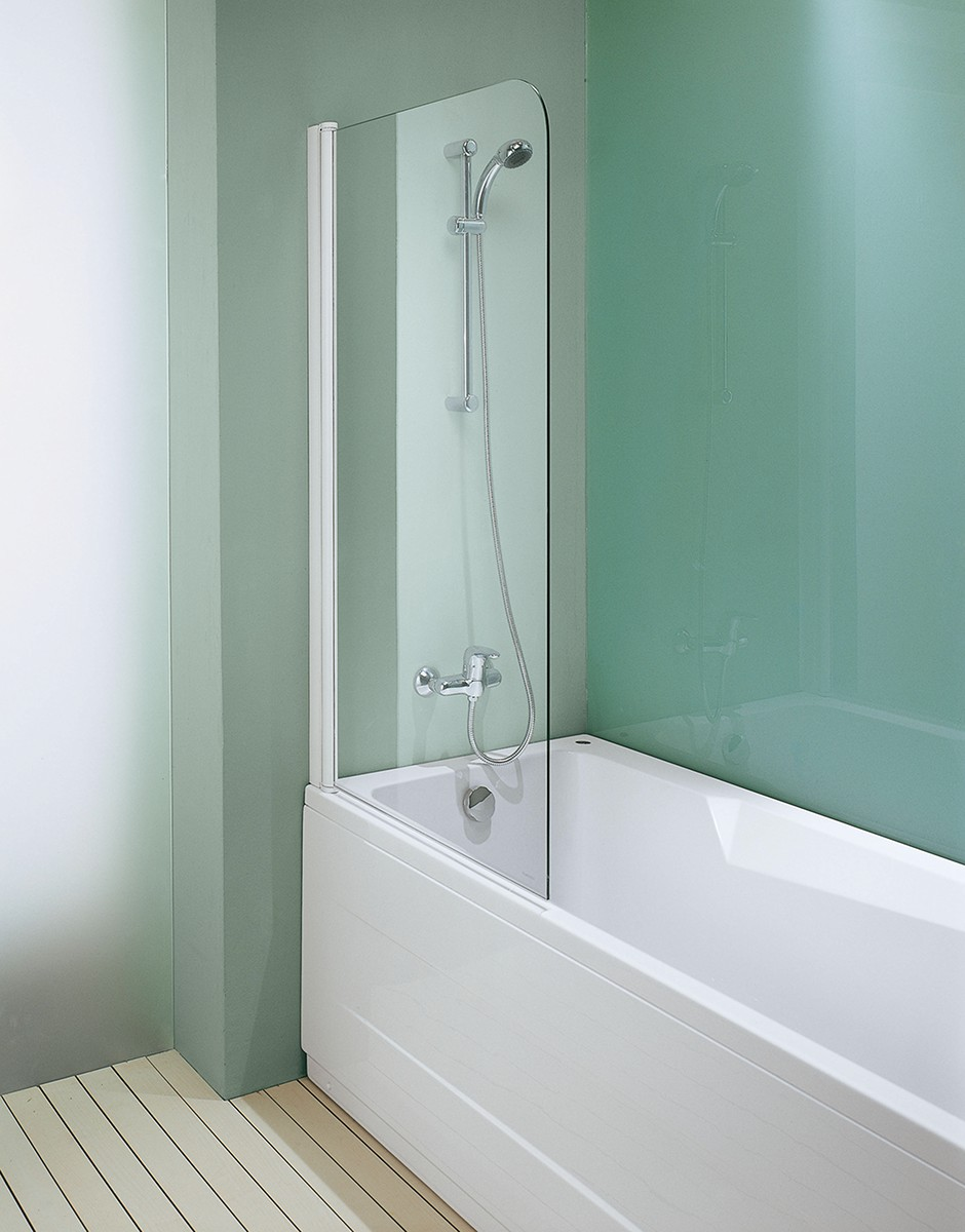 Галерея - шторки из стекла для ванной - sh 11