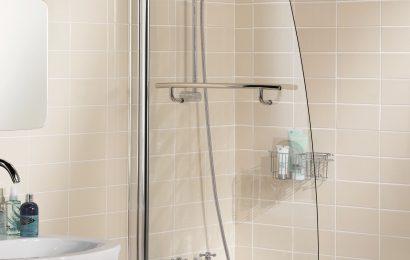 Галерея — шторки из стекла для ванной