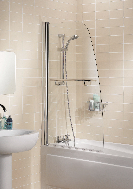 Галерея - шторки из стекла для ванной - sh 12